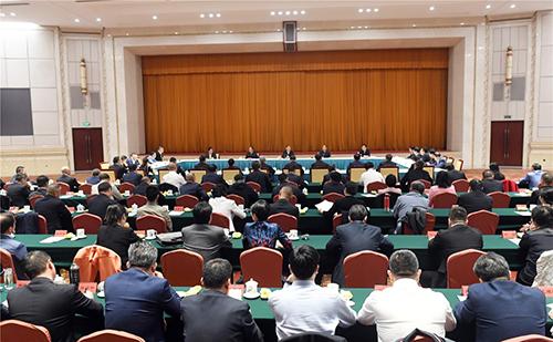纪念光彩事业发起实施25周年座谈会召开